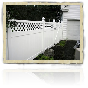 Hoover privacy fence